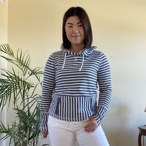 J.Crew Striped Sweatshirt